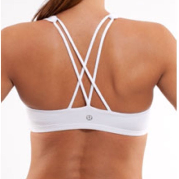 0e4c52acc6 lululemon athletica Other - Lululemon Free To Be White Bra